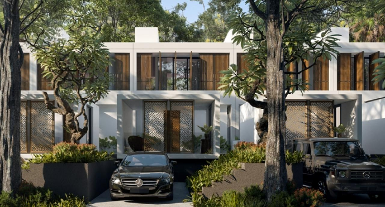 An exclusive residence in a green & lush hilly area with Resort Style Living concept